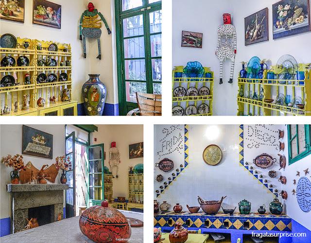 Cozinha da casa de Frida Kahlo, Museu Frida Kahlo, Cidade do México