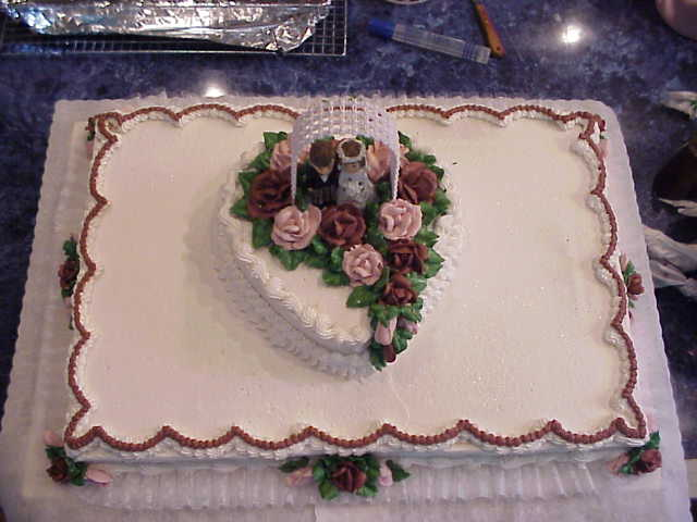 Connies CakeBox Wedding Sheet Cakes