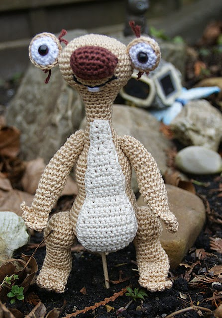 http://www.ravelry.com/patterns/library/sid-ice-age-sloth