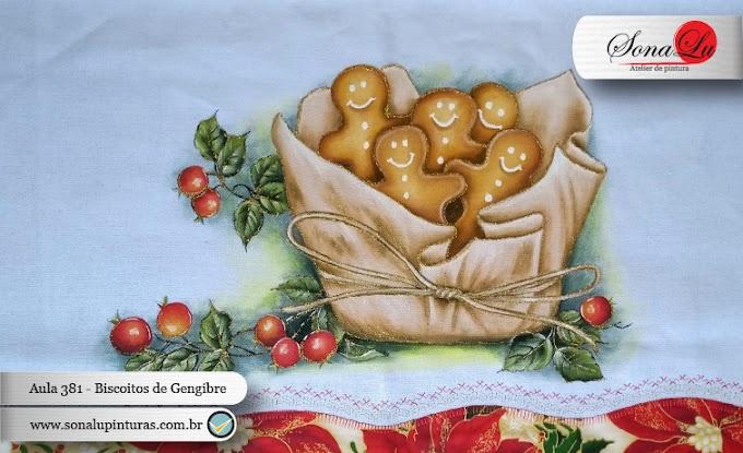 Aula 381 - Biscoitos de Gengibre