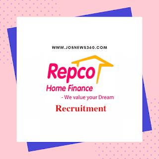 Repco Home Finance Recruitment 2019 for DGM & AGM