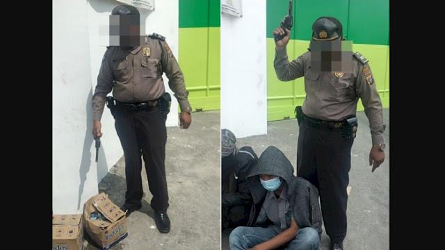 Ngeri, Polisi Acungin Pistol ke Arah Buruh yang Mogok Kerja di Deliserdang