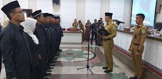 Walikota Jambi Melantik Dewan Pengupahan Periode 2019-2021.