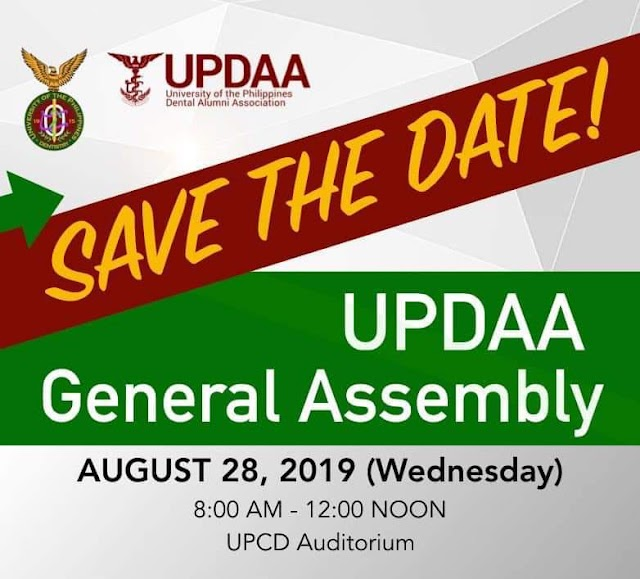 """UP DENTAL ALUMNI ASSOCIATION GENERAL ASSEMBLY 2019"""