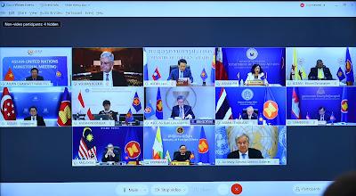 ASEAN KHẲNG ĐỊNH LẬP TRƯỜNG VỀ BIỂN ĐÔNG TRONG CUỘC HỌP VỚI LIÊN HỢP QUỐC