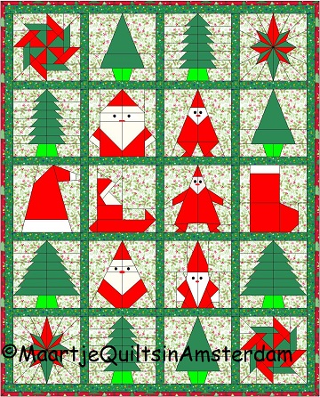 Kerst Quilt Patronen.Quilting In Amsterdam More Than 100 000
