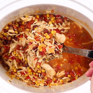 Weight Watchers Zero Point Chicken Taco Soup