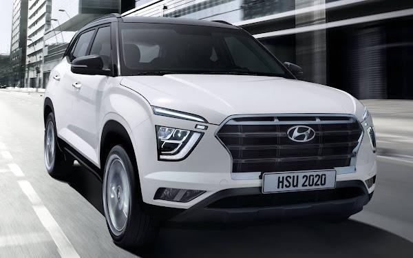 Novo Hyundai Creta 2021 - fotos e detalhes