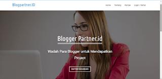 mencari penghasilan di blogparner.id