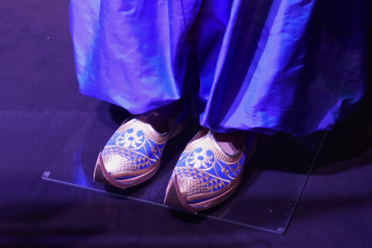 Genie Aladdin costume slippers