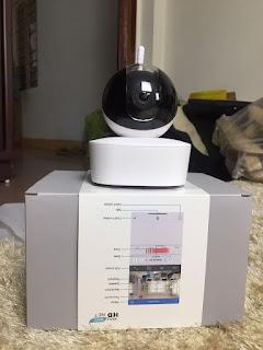 Camera wifi N4 Full HD 1080P -2.0 Mp Xoay 4 chiều có zoom 4X