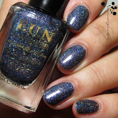 swatch of Fashion Show nail polish by F.U.N. Polish