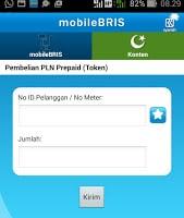 tampilan layar mobile BRIS ke 5