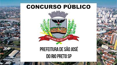 Concurso São José do Rio Preto - SP: vagas de níveis médio, técnico e superior.