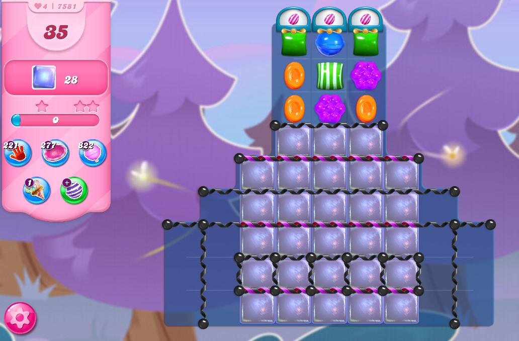 Candy Crush Saga level 7581