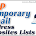 Top Temporary Email Address Websites