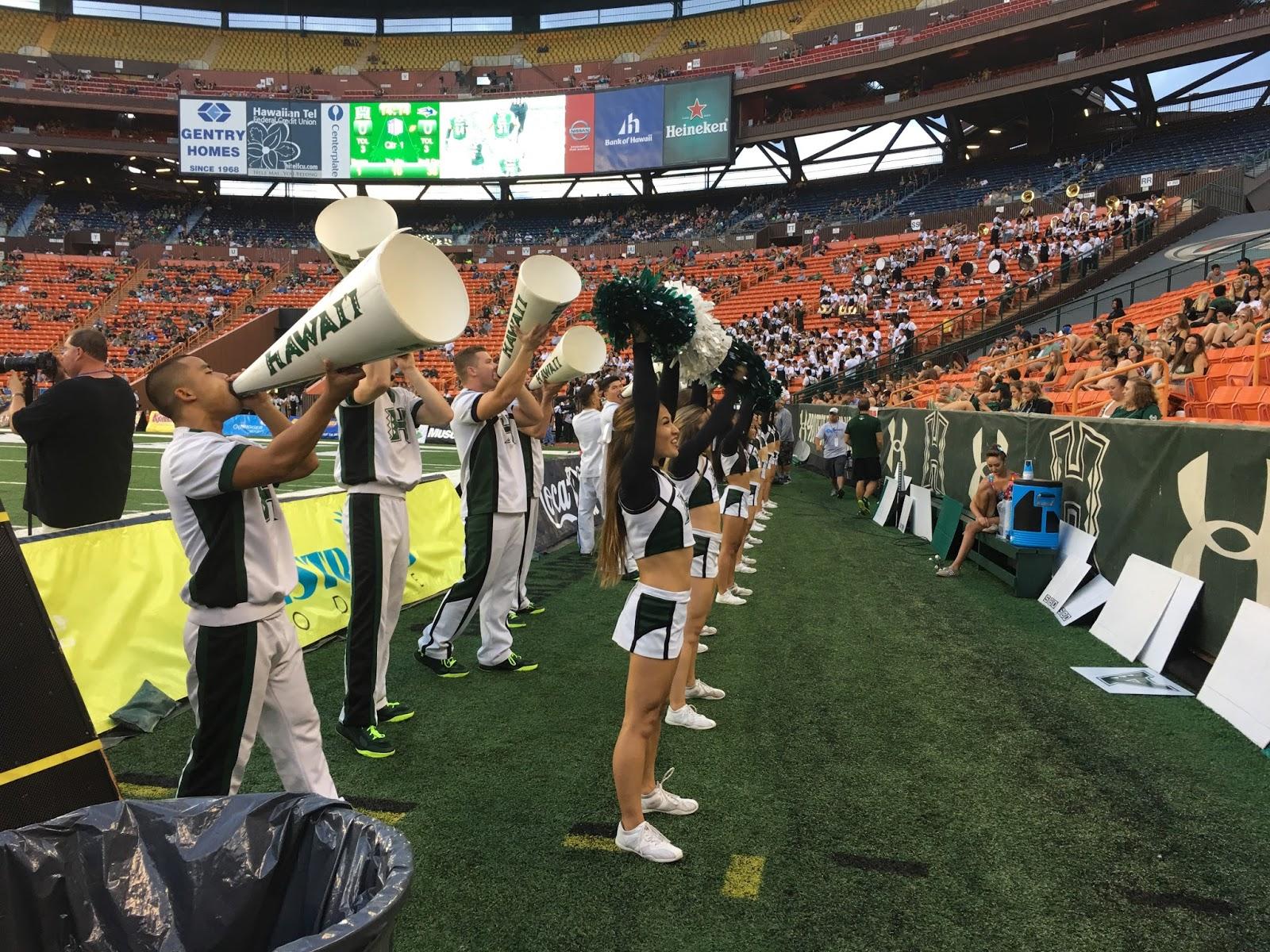TASTE OF HAWAII: HAWAII VS NEVADA FOOTBALL GAME