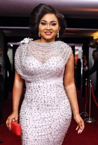 Mercy Aigbe AMVCA dress