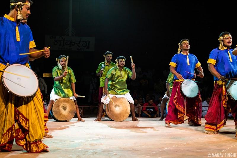 Thudumbattam Folk Dance from Tamil Nadu.