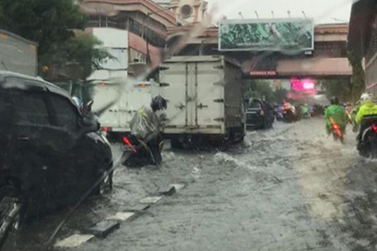 Hujan Deras Kembali Mengguyur Jakarta Dan Sekitarnya