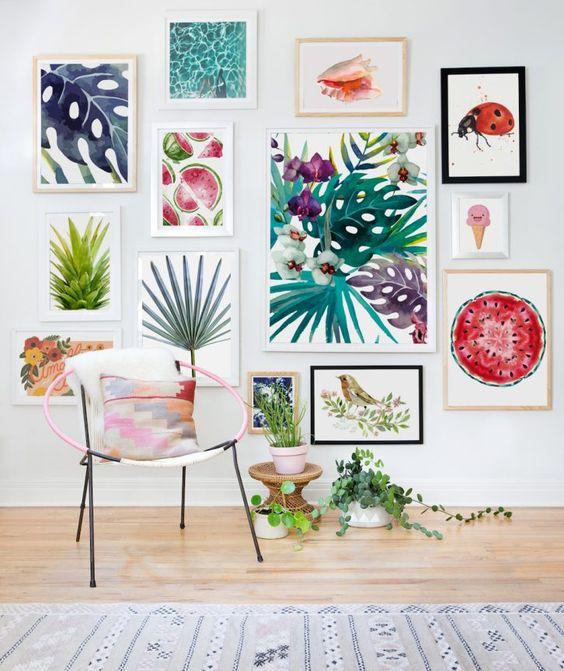 Blog Achados de Decoração, decoração de parede