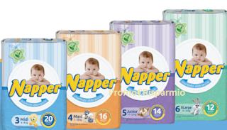Logo Richiedi gratis un Kit di pannolini Napper
