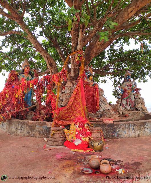 Taratarini Temple Side Idols