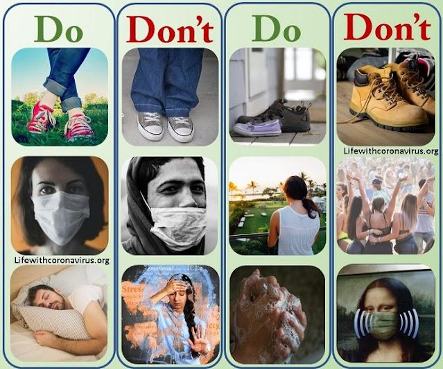 Coronavirus pandemic what to do