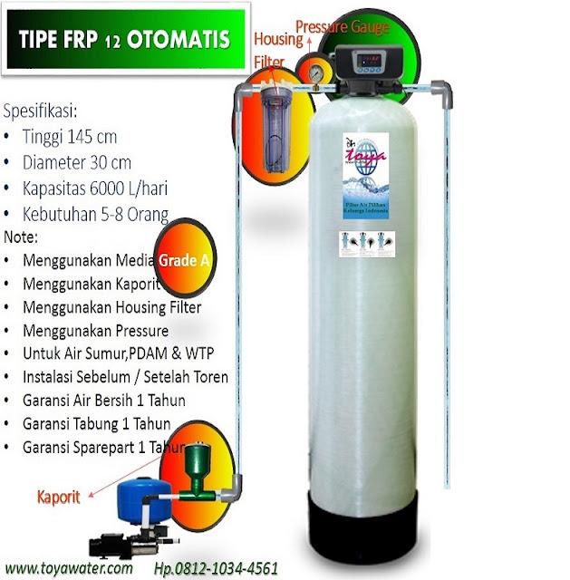 filter air sistem otomatis backwash
