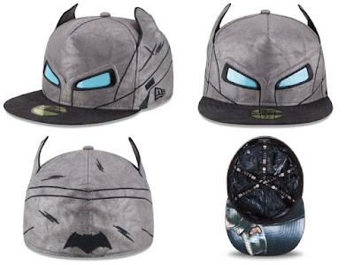 Batman v Superman: Dawn of Justice Character Armor 59Fifty Fitted Hat Collection by New Era - Armored Batman