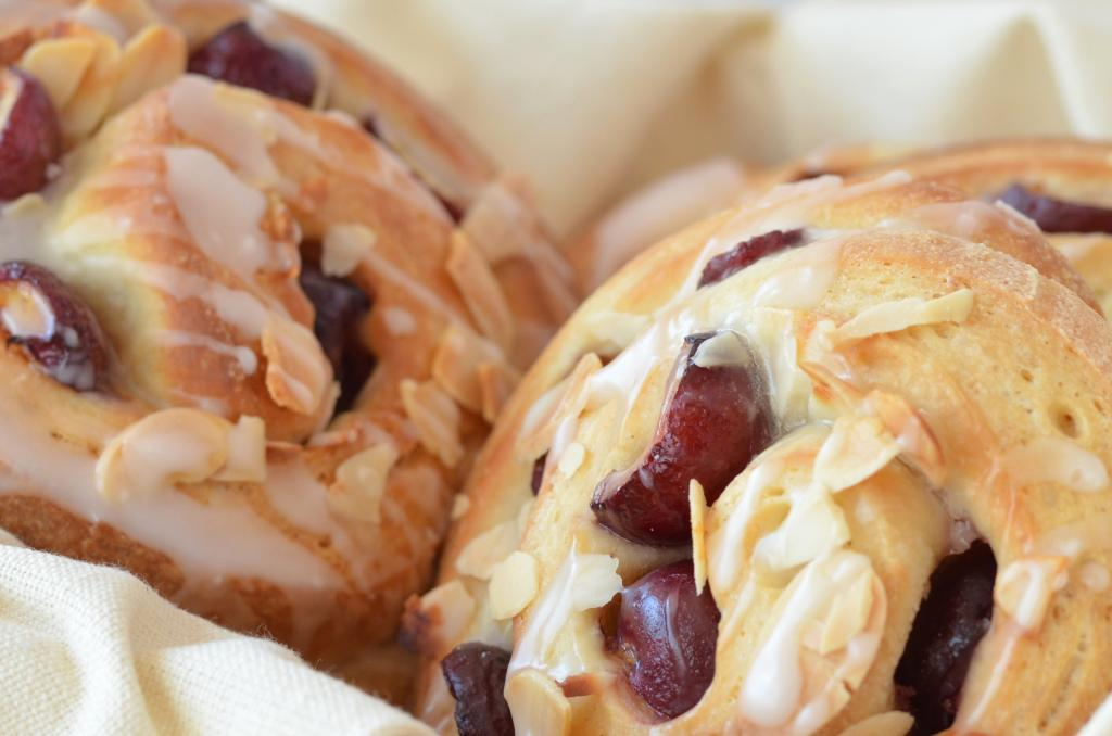 Seasonal Recipes - Cherry Buns