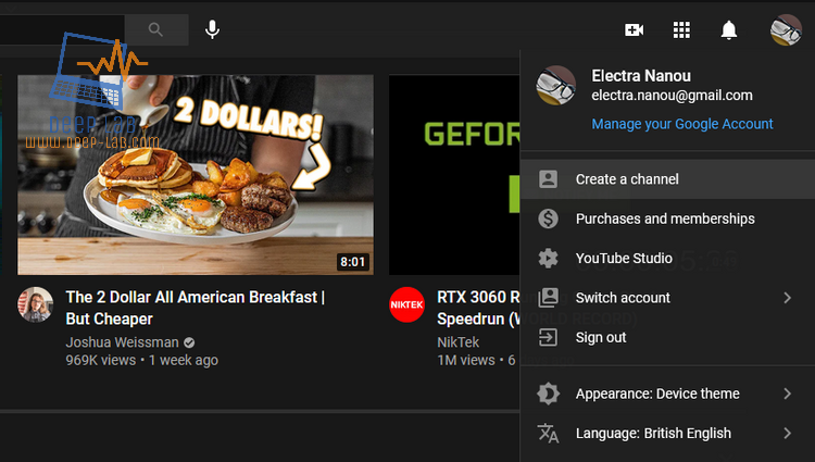 كيفية إعداد قناة يوتيوب لأول مرة