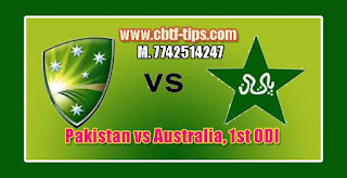 Australia Tour of Pakistan 1st ODI Match Prediction Tips by Experts PAK vs AUS