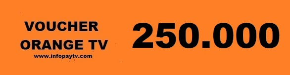 Voucher Orange TV 250 Ribu