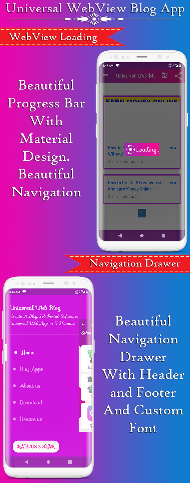 Universal WebView 2 App Bundle with Admin Panel - 4