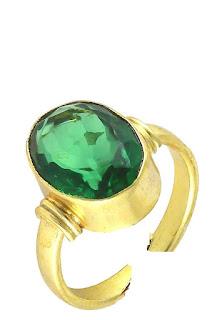 emerald gemstone benefits,panna ratna ring