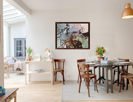 Gaudifond Arte: diseño de interiores con obra de arte de Enric Pascó i Ticó