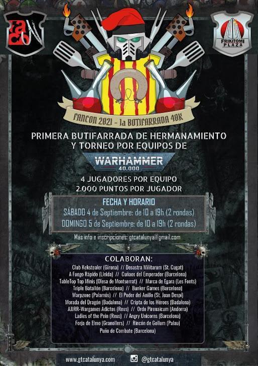 Iª Butifarrada de Hermanamiento y Torneo por Equipos de Warhammer 40.000