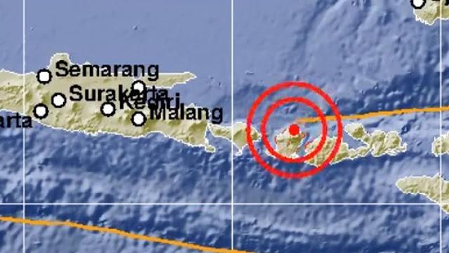 Gempa Berkekuatan 7,0 Skala Richter Guncang Lombok