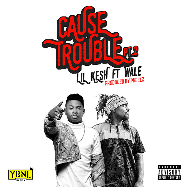 Lil Kesh - Cause Trouble (feat. Wale) - Single Cover