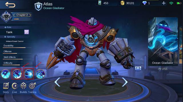 Build Atlas dan Kombinasi Skill Yang Efektif untuk Push Rank Season 16