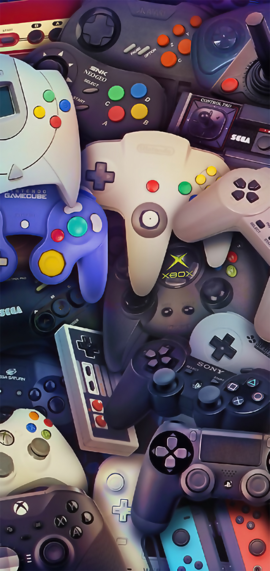 CONSOLE CONTROLS GAMES WALLPAPER IPHONE