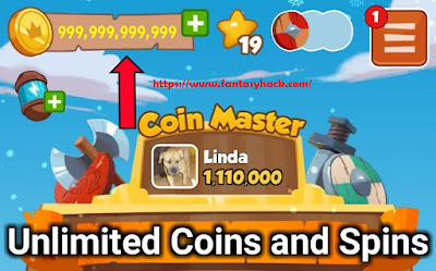Download Free Coin Master Game Hack Unlimited Coins, Spins 100% working and Tested for IOS and Android