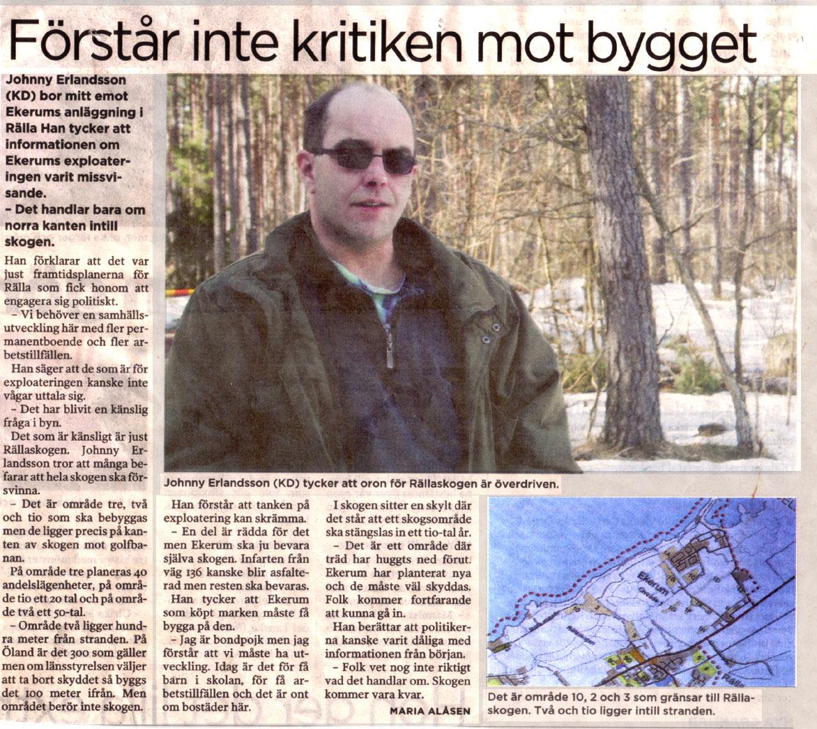 Ölandsbladet: VART GÅR DU?: Mars 2011