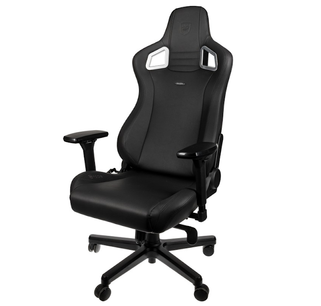 4. noblechairs Epic Black Edition