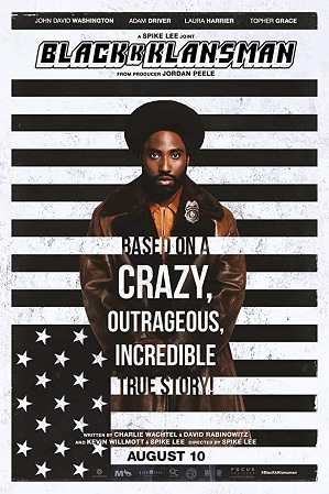 BlacKkKlansman (2018) Hindi Dual Audio 480p 720p Bluray