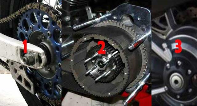 Kelebihan dan Kekurangan Rantai Motor, Belt, dan Shaft, Mana yang Terbaik?