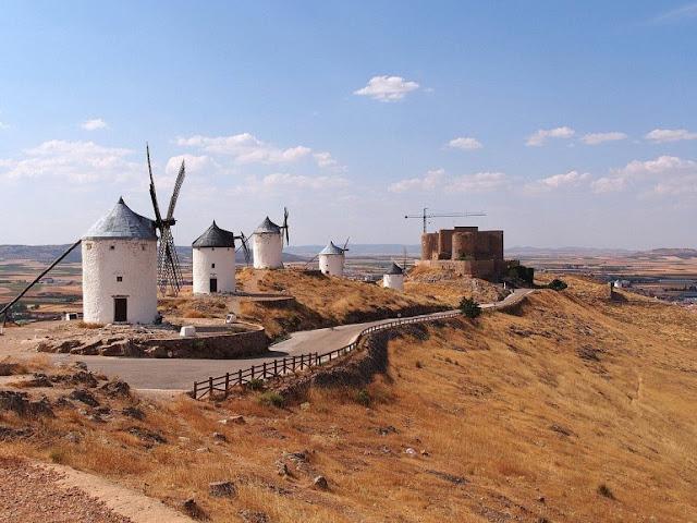 moinhos de vento consuegra espanha