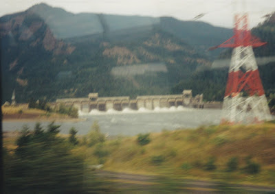 Bonneville Dam Spillway on July 23, 1999