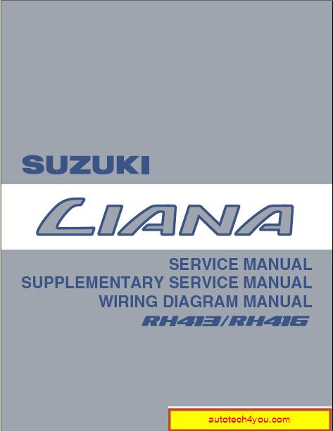 Suzuki Liana service manual ~ الموقع الأول فى الشرق الأوسط
